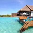 Access to the Beach Anantara Kihavah Villas