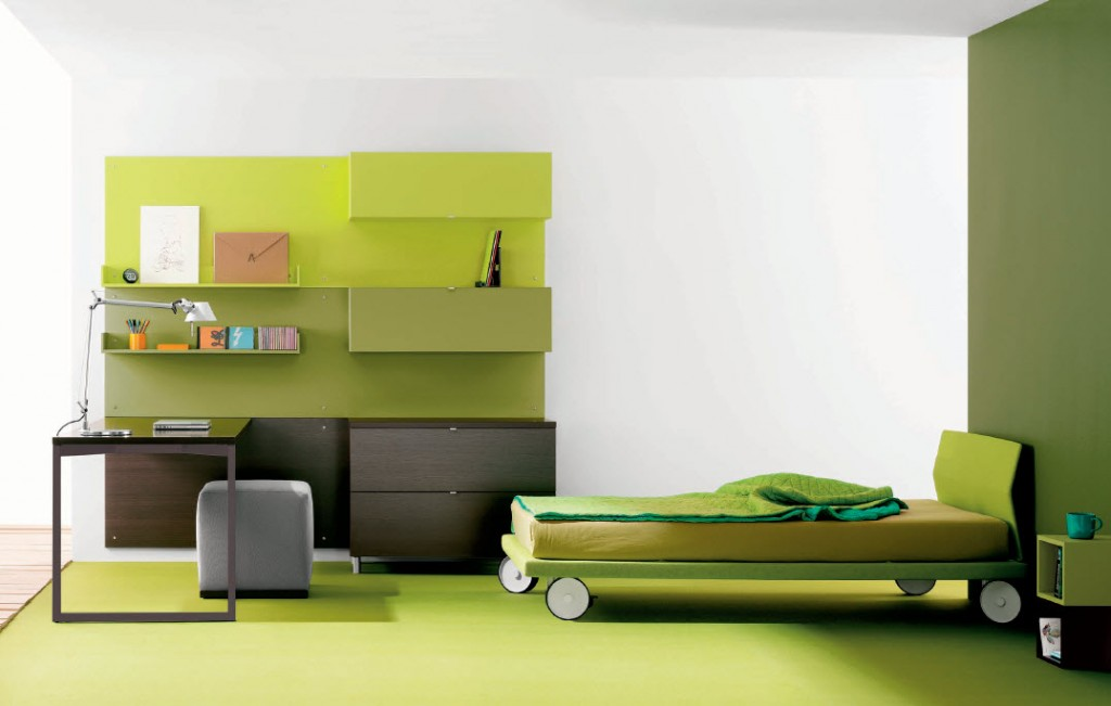 Aqua Green Teen Room 2011