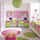 Asian style Girls Bed Rooms