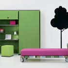 Minimalist and Colorful Teen Rooms