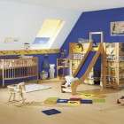 Blue Cool Kids Room Themed