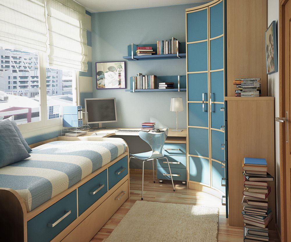 Blue Kids Room - Interior Design Ideas