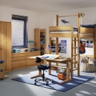 Blue Outbond Cool Kids Room Themed