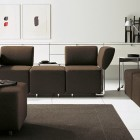 Ideas for Living Room with Brown Sofa Sets by COR