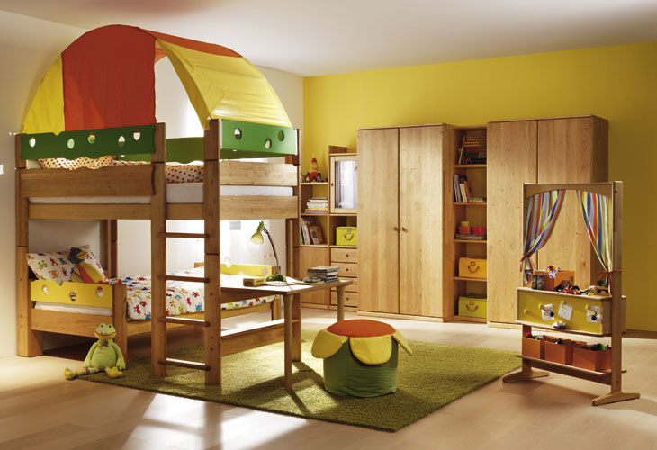 Camp cool kids room themed interior design ideas - Kids room image ...