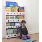 Children Bookcase Bookcase in Pink Finish