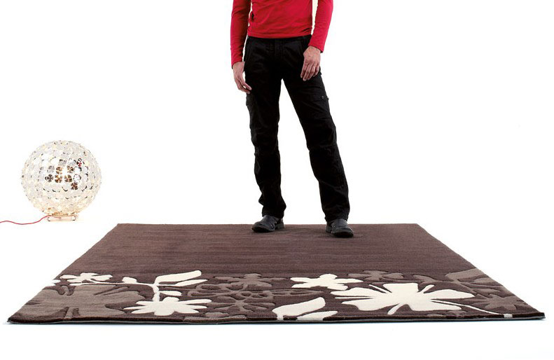 Contemporary Brown Rugs from Dhesja