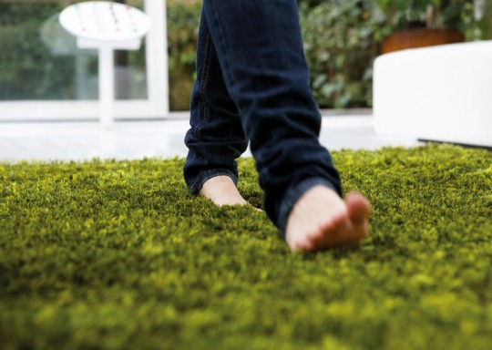 Contemporary Grass Rugs from Dhesja