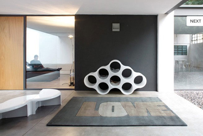 Contemporary Love Rugs from Dhesja