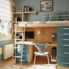 Cool Blue Kids Room