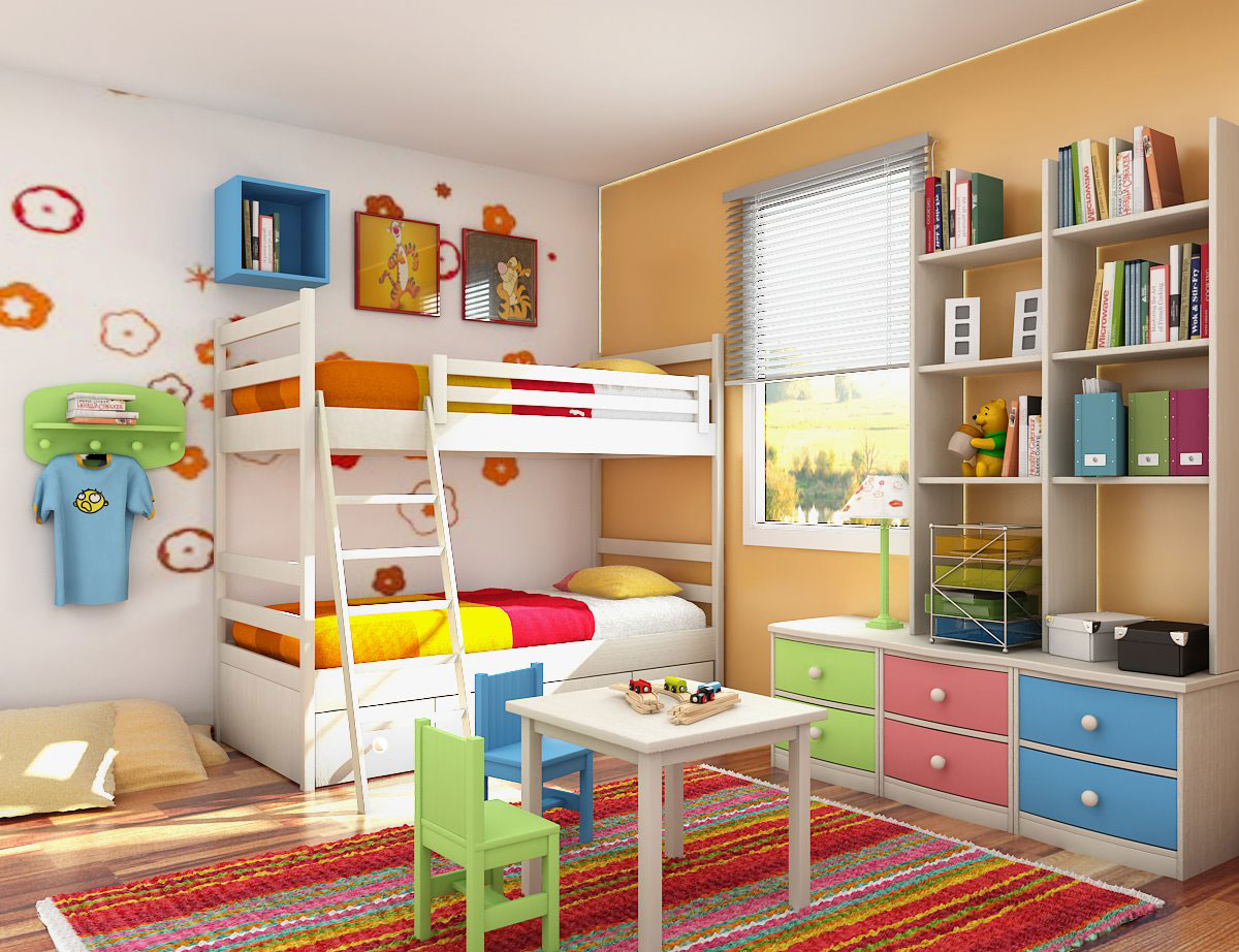 Cool kids room designs bedroom design ideas interior for Cool kids bedroom designs