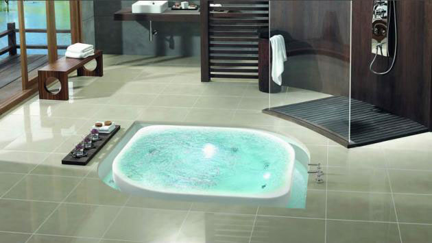 Cool Overflow Bathtubs from Käsch German