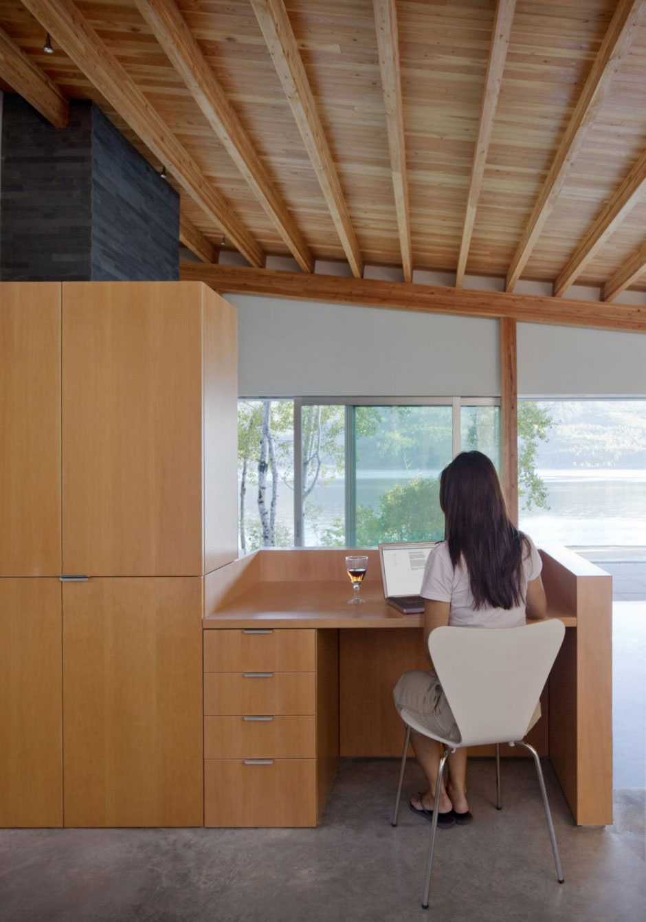 Cozy Spot for all Activities of Shuswap Cabin by Splyce Design