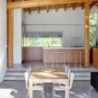 Dining Room Shuswap Cabin by Splyce Design