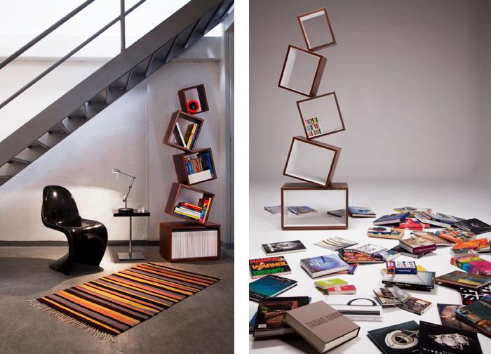 Equilibrium Bookcase Malagana Design Real Examples