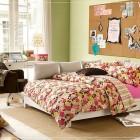 Girl Flower Teen Bedroom