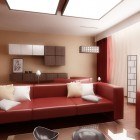 Inspirationa Red Sofa