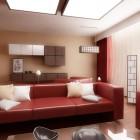 Inspirationa Red Sofa