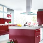Inspiring Red Kitchens by Schueller