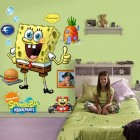 Kids Room Wall Decor Spongebob