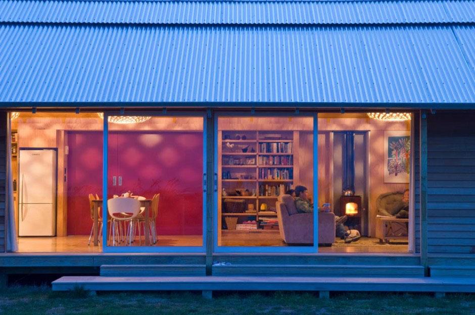 Large Sliding Glass Doors Shoal Bay House