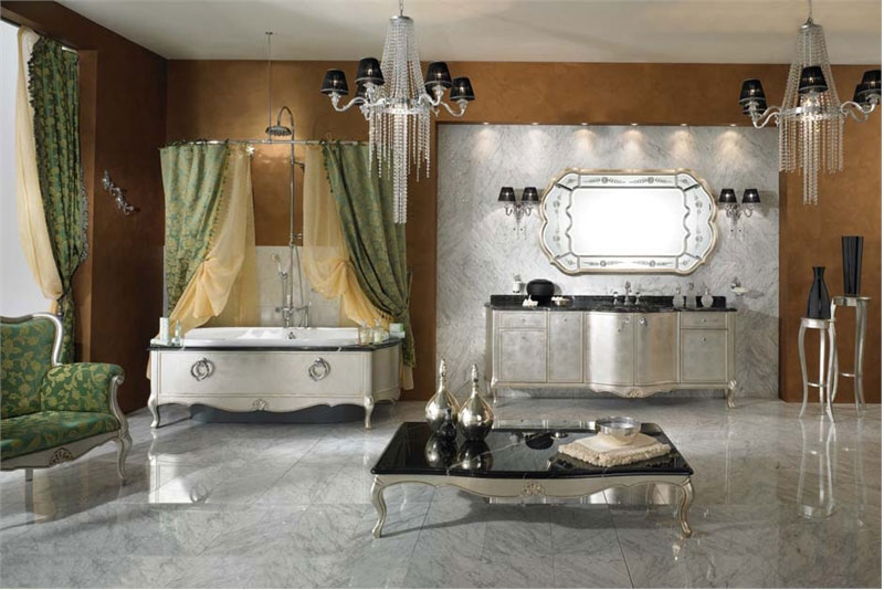 Luxury and Cool Classic Bathroom Furniture Lineatre