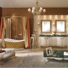 Luxury and Glamorous Classic Bathroom Furniture Lineatre