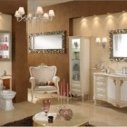 Luxury and Natural Classic Bathroom Furniture Lineatre