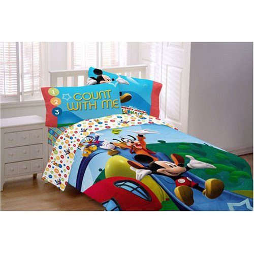 Mickey Mouse Clubhouse Bedding Comforter Set Interior Design Ideas