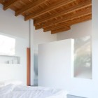Minimalist Bedroom of Shuswap Cabin by Splyce Design