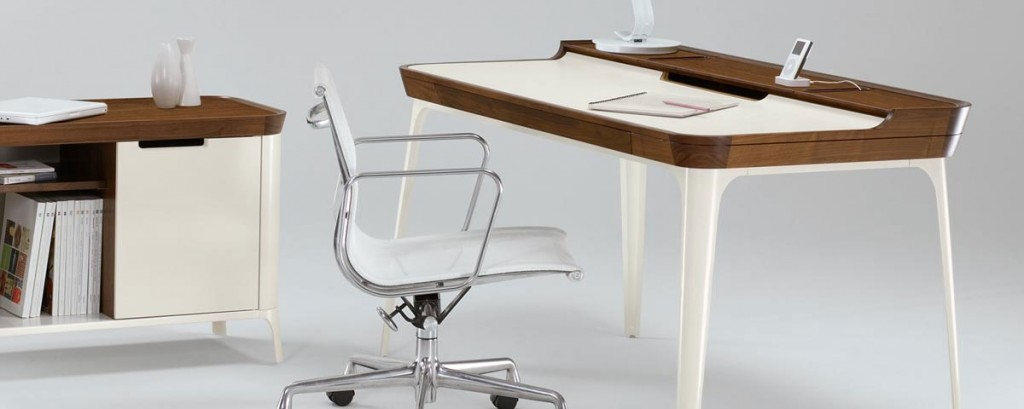 Minimalist Drafting Computer Desk