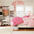 Minimalist Pink Teen Bedroom
