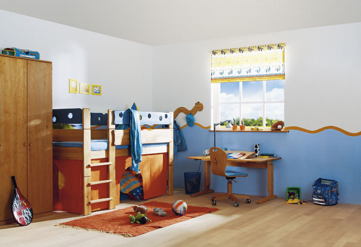 Ocean Cool Kids Room Themed Interior Design Ideas