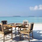 Outdoor Table Anantara Kihavah Villas