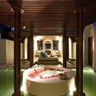 Oversized Bathtubs or Two Anantara Kihavah Villas