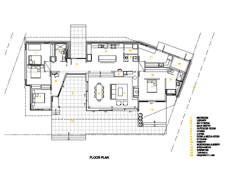 Plan Picture (Blueprint) of Shuswap Cabin by Splyce Design