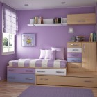 Purple Kids Room Design