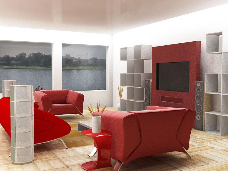 Exotic Red Sofa Design Trends Furniture Design Ideas