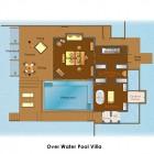 Sketch Over Watter Pool Anantara Kihavah Villas