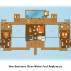 Sketch Two Bedroom Over Water Pool Beach Residance Anantara Kihavah Villas