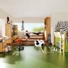 Soccer Field Cool for Kids Room Themed