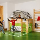 Soccer Field Cool Kids Room Themed Example