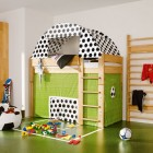 Soccer Field Cool Kids Room Themed Side View
