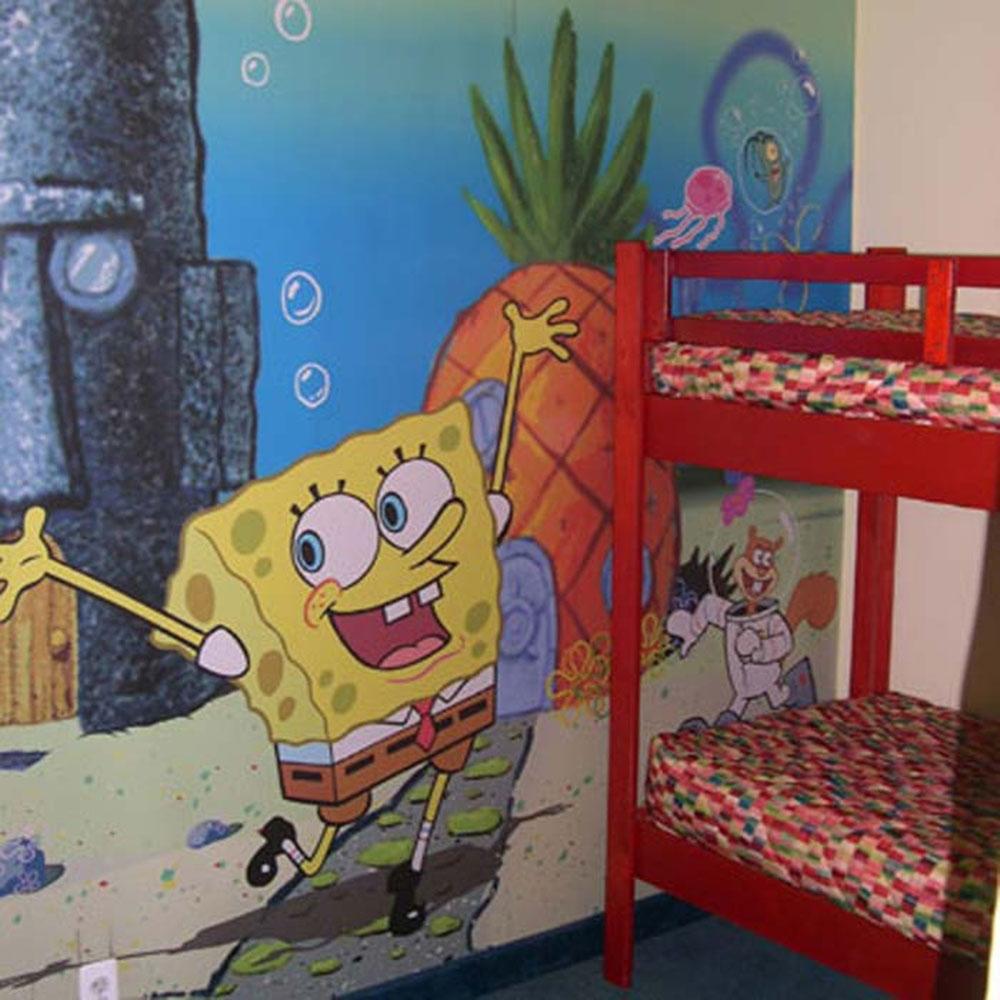 Sponge Bob Kids Bedroom Decorating Ideas Interior Design
