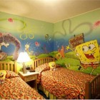 Spongebob Bedroom and Furniture Set