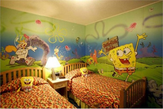 Spongebob Bedding Set Design