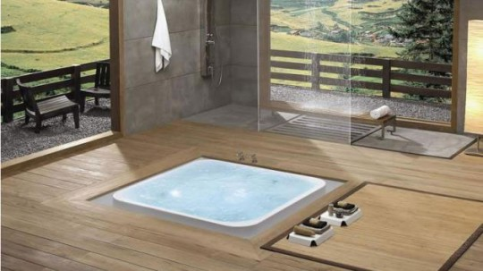 Square Overflow Bathtubs from Käsch German