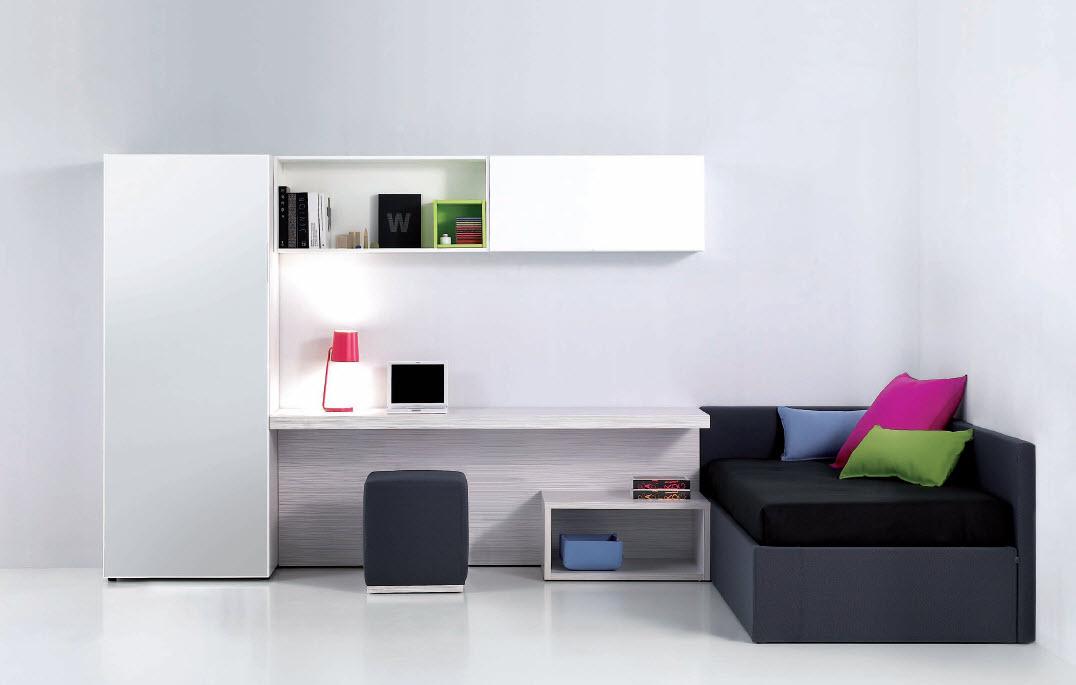 White and Black Teen Room decor 2011