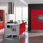 Ala Cucine Red Kitchen Italian Design