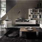 Amazing Dark Grey Living Room Design Ideas